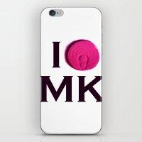 I 'Tin' Matthew Kel iPhone & iPod Skin