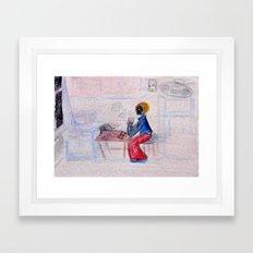 Nights of You Framed Art Print
