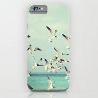 Seagulls in Flight iPhone 6 Slim Case