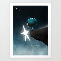 By starlight... Art Print