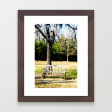 Where We First Met Framed Art Print