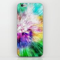 Colorful Tie Dye Abstract iPhone & iPod Skin