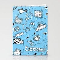 Vehicle Doodle (: Stationery Cards