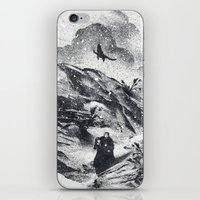 Follow The Raven iPhone & iPod Skin
