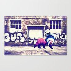 Bear Wall-king Canvas Print
