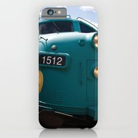 iPhone & iPod Case featuring Train In Your Face by Robert Wacker
