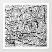 Lines #1 Canvas Print