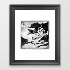 Hunted Framed Art Print