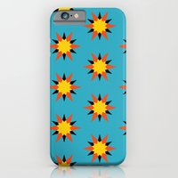 iPhone & iPod Case featuring Retro Starburst by Stoflab