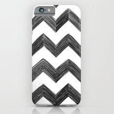 Classic Chevrons in Black iPhone 6s Slim Case