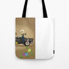 Retro Sailor Starlights Tote Bag