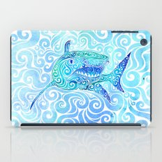 Swirly Shark iPad Case