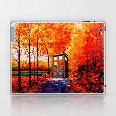 tardis in the woods Laptop & iPad Skin