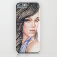 iPhone & iPod Case featuring RIHANNA by Hileeery