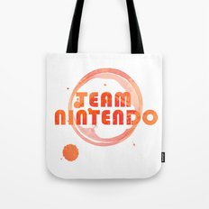 Team Nintendo Tote Bag