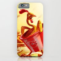 iPhone & iPod Case featuring Bucket of Chicken by Goodson Productions