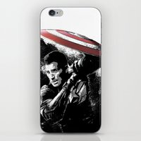 Steve Rogers: Shadow Edition iPhone & iPod Skin