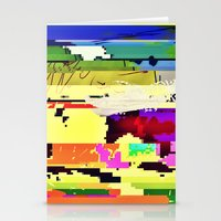Paint On The Monitor #2 Stationery Cards