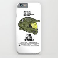 iPhone & iPod Case featuring Full Metal Spartan by adho1982