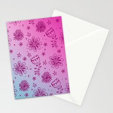 Summer Flower pattern Stationery Cards