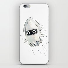 Blooper Watercolor iPhone & iPod Skin