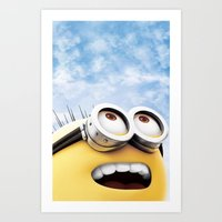 MINION LIFE: HAPPY! Art Print