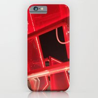 Red Lights iPhone 6 Slim Case