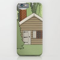 Deep in the Forest Illustration iPhone 6 Slim Case
