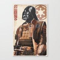 Star Wars - Samurai Vade… Canvas Print