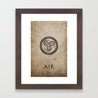 Avatar Last Airbender - … Framed Art Print