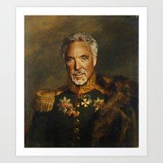 Sir Tom Jones OBE Art Print