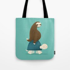 Slow Ride Tote Bag