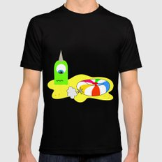 BUBOL BALL SMALL Black Mens Fitted Tee