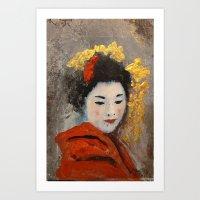 TOKYO SAD SONG - PART. Art Print