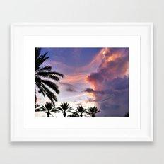 Paradise Sky Framed Art Print