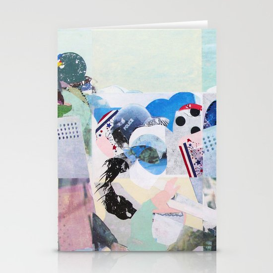 Man Down Stationery Card