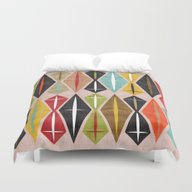 Duvet Cover featuring MCM Diamond by Lisa Jayne Murray - …