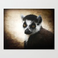 Sad creature Canvas Print