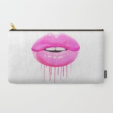 Pink lips Carry-All Pouch