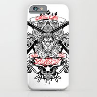 iPhone & iPod Case featuring Stop Your Lion by Artless Arts
