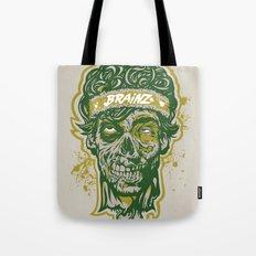 Brainz Zombie Print Tote Bag