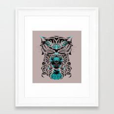 Saber Framed Art Print