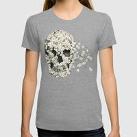 A Beautiful Death  Womens Fitted Tee Tri-Grey SMALL