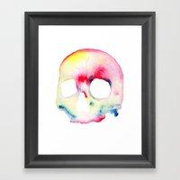 Skull #3 Framed Art Print