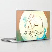 rabbit Laptop & iPad Skins featuring Rabbit by Danielle Summerfeldt