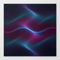 Wavy One Canvas Print