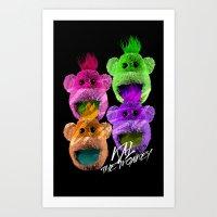 Kal The Monkey - Kal War… Art Print