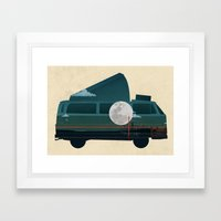 VW Camper Framed Art Print