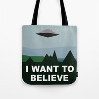 I Want To Believe Minima… Tote Bag
