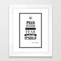 hp quotes: Philosophers Stone Framed Art Print